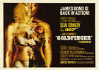 GOLDFINGER 1964 Sean Connery - Vintage Movie Cinema Poster Restored Print Art £8.8 GBP on eBay