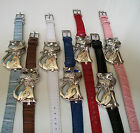 Animal style covered faces fashion CAT wrist women's casual/dressy watches image