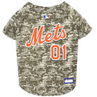 New York METS MLB Dog Pet Camo Hunting Jersey (all sizes)