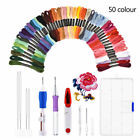 DIY Magic Craft Tools Punch Needle Embroidery Pen Set ABS Plastic Threader