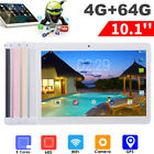 10.1'' 4GB 64GB Android Phablet Octa 8 Core Camera SIM WIFI bluetooth Tablet PC