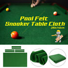 AUS 9.5FT Worsted Pool Snooker Billiard Table Cover Cloth Heavy Duty +Felt Strip $39.49 AUD on eBay