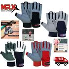 Men Women Sailing Gloves 3/4 Finger Grip Kayaking Surfing Fishing Deckhand Glove