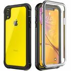 For iPhone XR 6.1inch Military Case Shockproof Life Dust proof Screen Protector