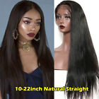 Full Lace Wig Curly Wave Peruvian Human Hair 360 Lace Frontal Wigs Pre Plucked #