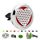 Removeable Aroma Essential Oil Car Air Vent Clip Diffuser Locket Air Freshener