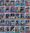 1986 Fleer Baseball Cards Complete Your Set Pick From List 221-440 on Ebay