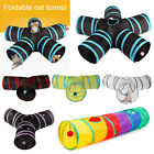 Внешний вид - Foldable 5 Holes Pet Cat Tunnel Toys Pets Animals Kitten Rabbit Play Tunnel