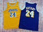 Los Angeles Lakers Kobe Bryant 24 Retro Mens Basketball Jersey Purple Yellow on eBay