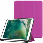 "For Apple iPad Air 3rd Gen 2019 Pro 10.5 "" Smart Case Cover with Pencil Holder"