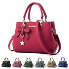 Women Faux Leather Handbag Shoulder Bag Purse Tote Messenger Satchel Crossbody image