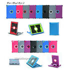 Defender Series Shockproof Hard Shell Case w/Stand Cover For iPad Air 2 Only
