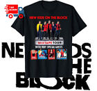 New Kids On The Block Mixtape Tour 2019 T-shirt Band Music Shirt Black Made USA  image