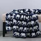 Berkshire Blanket Majestic Elephant Velvet Loft Throw image