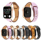 Genuine Leather Glitter Wrist Band Strap for Apple Watch Series 4/3/2/1 38-44mm image