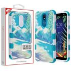For LG K40 IMPACT TUFF HYBRID Protector Case Skin Phone Cover Accessory