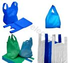 STRONG PLASTIC CARRIER BAGS VEST SHOPPING SUPERMARKET SHOP & TAKEAWAY