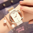 Fashion Girl Women Classic Casual Quartz Watch Leather Strap Wrist Watches Gift