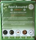 Mattress Protector Waterproof Cool Bamboo Soft Hypoallergenic Fitted Pad Cover image