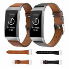 Luxury Leather Replacement Bracelet Strap Watch Band for Fitbit Charge 3 & 3SE