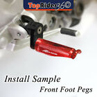 Front Racing Extended Foot Pegs For Triumph Daytona 675 /R Bonneville T100/T120 $34.75 USD on eBay