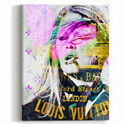 Wall Glam Fashion Art Canvas Print LV Louis Vuitton Model Designer Artwork
