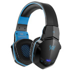 Stereo Wireless Bluetooth Gaming Headset With Mic For PC PS4 Xbox One Smartphone