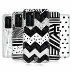 HEAD CASE DESIGNS BLACK AND WHITE DOODLE PATTERNS CASE FOR HUAWEI PHONES 1