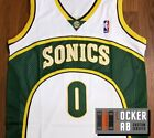 Russell Westbrook #0 Seattle Retro Throwback Basketball Jersey on eBay