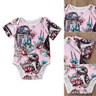US Newborn Baby Girl Clothes Star Wars Romper Bodysuit Outfits Sunsuit Clothes $6.95 USD on eBay