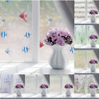 Modern Glass Door Privacy Frosted Film Bathroom Window Self Adhesive Sticker