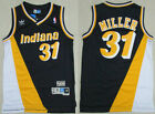 Men's Indiana Pacers Basketball Jersey #31 Reggie Miller Mesh Tricolor spell on eBay