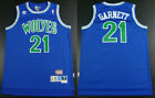 Minnesota Timberwolves #21 Kevin Garnett Basketball jersey mesh Green on eBay