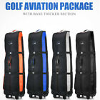 Foldable Golf Travel Bag 1600D Nylon Excellent Zipper Universal Size With Wheels