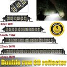 "6D Dual Row 8""-32'' Led Work Light Bar Combo Beam for Offroad ford 4WD ATV UTE $63.02 CAD on eBay"