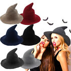 Kyпить US! Halloween Women Witch Hat Modern Witch Hat Made From High Quality Sheep Wool на еВаy.соm