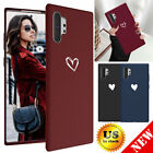For Samsung Galaxy Note 10 S10 Plus Love Heart Cute Girls Women Phone Case Cover