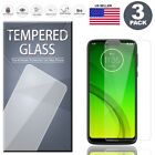 3-Pack Tempered Glass Screen Protector For Motorola Moto G7 Optimo/Optimo Maxx