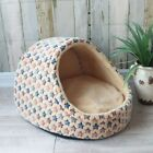 Pet Dog House Nest With Mat Foldable Dog Basket Cat Bed For Small Medium Dogs