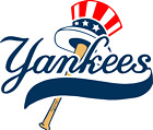 New York Yankees corn hole set of 2 decals ,Free shipping, Made in USA #4 on Ebay
