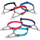 Chain Martingale Dog Collar Choke Style Safe Control Training Pick Color  Size