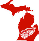 Detroit red wings corn hole set of 2 decals ,Free shipping, Made in USA #9 $15.99 USD on eBay