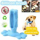 Dog Toothbrush Clean Stick Teeth Chew Toy Silicone Pet Brushing Dental Care D@