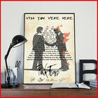 Wish You Were Here Lyrics Poster Pink Floyd Poster Wedding Song And Wedding Gift