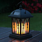 Solar Power Outdoor Garden Flickering LED Candle Lantern Light | Ru