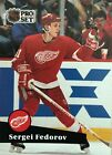 1991 ~ PRO SET HOCKEY CARDS ~ DETROIT RED WINGS #53 to #65 ~ EF Condition $0.99 CAD on eBay