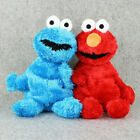 "Living Hand Puppets 12"" Elmo Cookie Monster Sesame Street Soft Plush Toy Gift"