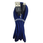 100X iPhone Charger Lot 6Ft 10Ft Nylon Braided Lightning Cable Wholesale Bulk