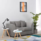 2/3 Seater Jumbo Cord Corner Sofa Settee Couch Swivel Armchair with Pillows Home