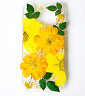 phone case iphone case pressed flowers case samsung case floral case real flower
